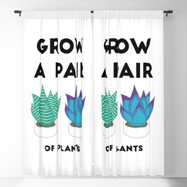 Grow A Pair Blackout Curtain