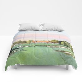 Bethpage State Park Golf Course Comforters