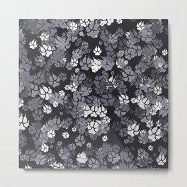 Canine Camo URBAN Metal Print
