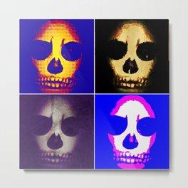Skull quartet Metal Print