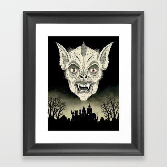 The Undead Framed Art Print