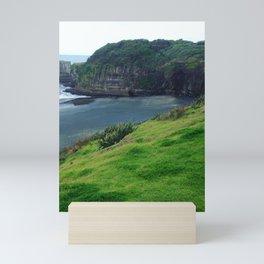 Cliff top winds Mini Art Print