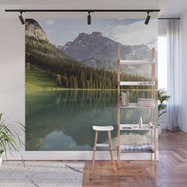Mountain Lake Landscape Wall Mural