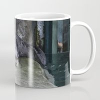 otter Mugs featuring Otter by RMK Photography