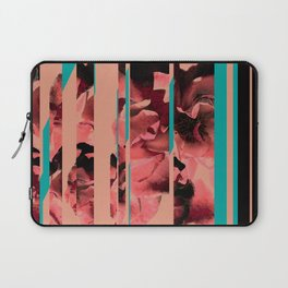 Divided Floral  Laptop Sleeve