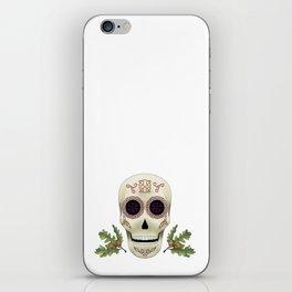 Knotwork Skull iPhone Skin