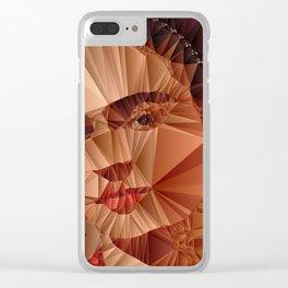 Frida Kahlo Clear iPhone Case