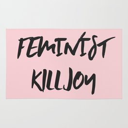 Feminist Killjoy Print Rug