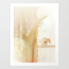lace and sunlight Art Print
