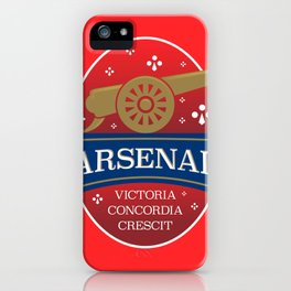 North London Red Football iPhone Case