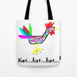 Crazy Cock Tote Bag