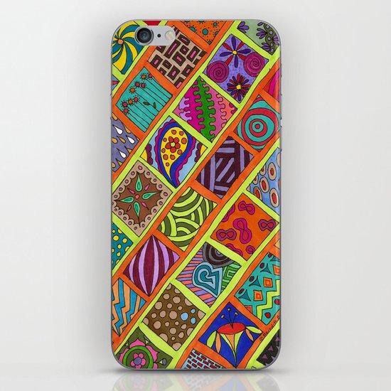Boxes iPhone & iPod Skin