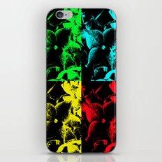 Pop Art Hydrangea iPhone & iPod Skin