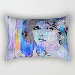 Clara Bow:  I'll See You In New York Rectangular Pillow
