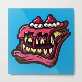 Cake Monster Metal Print
