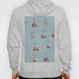 Christmas Pattern Mint Hoody