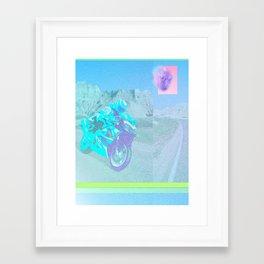 I-ROBOTOVRDRIVE Framed Art Print