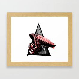 Youtriangle ∆ Ledzeppelin Framed Art Print