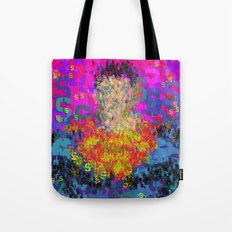 Super Type Man - Abstract Pop Art Comic Tote Bag