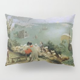 Pieter Bruegel the Elder - Landscape with the Fall of Icarus Pillow Sham