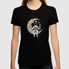 Astronaut Space Planets Rotation, Solar System Juggling Astronomy, Juggler in  Universe Performer T-shirt