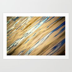 River Waters II Art Print
