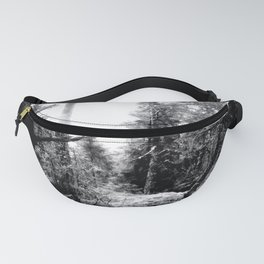 Fall Forest Morning Fanny Pack