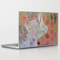 pig Laptop & iPad Skins featuring pig by ferzan aktas