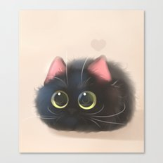 Fluffy Sushi Canvas Print