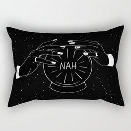 Nah future - crystal ball Rectangular Pillow