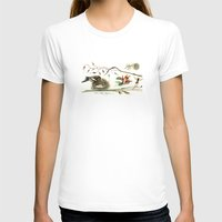 sparrow T-shirts featuring Sparrow by Alice Flynn