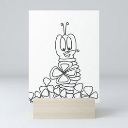 Nevis for good luck Mini Art Print