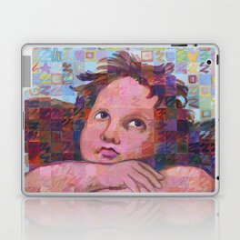 Sistine Cherub No. 2 Laptop & iPad Skin