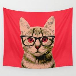 Warhol Cat 4 Wall Tapestry