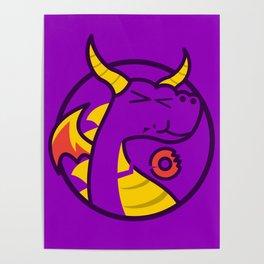 Spyro Loves Donut Poster