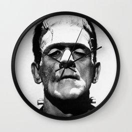 Frankenstien | Franky | Horror movies | Munsters | Gothic Aesthetics Wall Clock