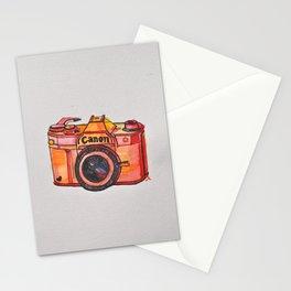 retro camera phone case Stationery Cards