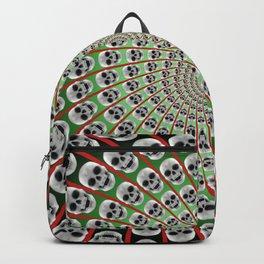 Skull Spiral Backpack