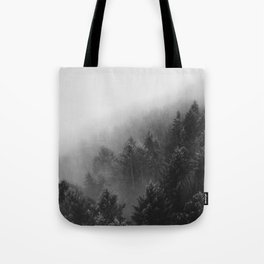 Misty Forest II Tote Bag