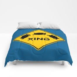 Sheep XING Blue Comforters