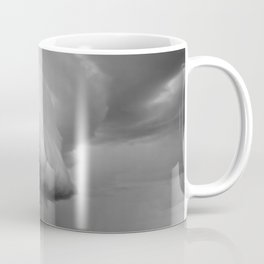 Cape Tryon Vortex Black and White Coffee Mug