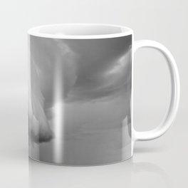 Cape Tryon Vortex Black and White Coffee Mug