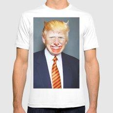 McDonald Trump White MEDIUM Mens Fitted Tee