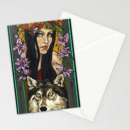 Finland beauty Stationery Cards