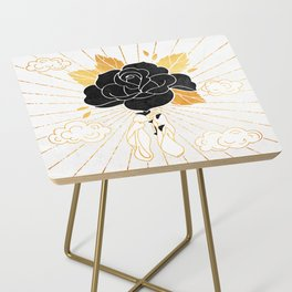 Black Rose Inktober :: Your Psyche Side Table