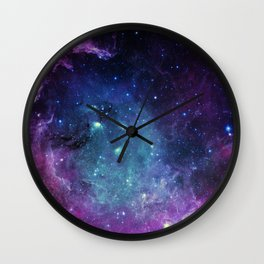 Starfield Wall Clock