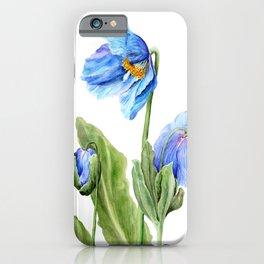 Himalayan Blue iPhone Case