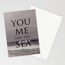 You, Me, and the Sea Stationery Cards