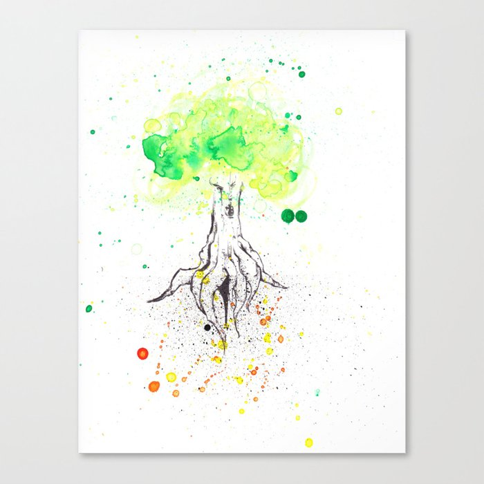 Rooted in Everything Canvas Print