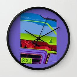 Lancia Thema Wall Clock
